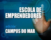 Logo Escola de Emprendedores. Edic. Campus do Mar